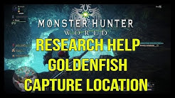 Monster Hunter World - Research Help: Goldenfish Capture