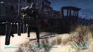 Fallout 4 Free Roam | Side Quest Gameplay #15 - PC - Survival - HD 1080p