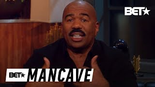 Distancing Yourself From Old Friends?  Ft. Steve Harvey | BET's Mancave