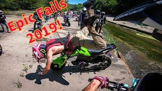 ⚡️ EPIC FAILS 2019! Supermoto & Enduro Fails, Funny, Dirty and Epic Moments! 💀   2019