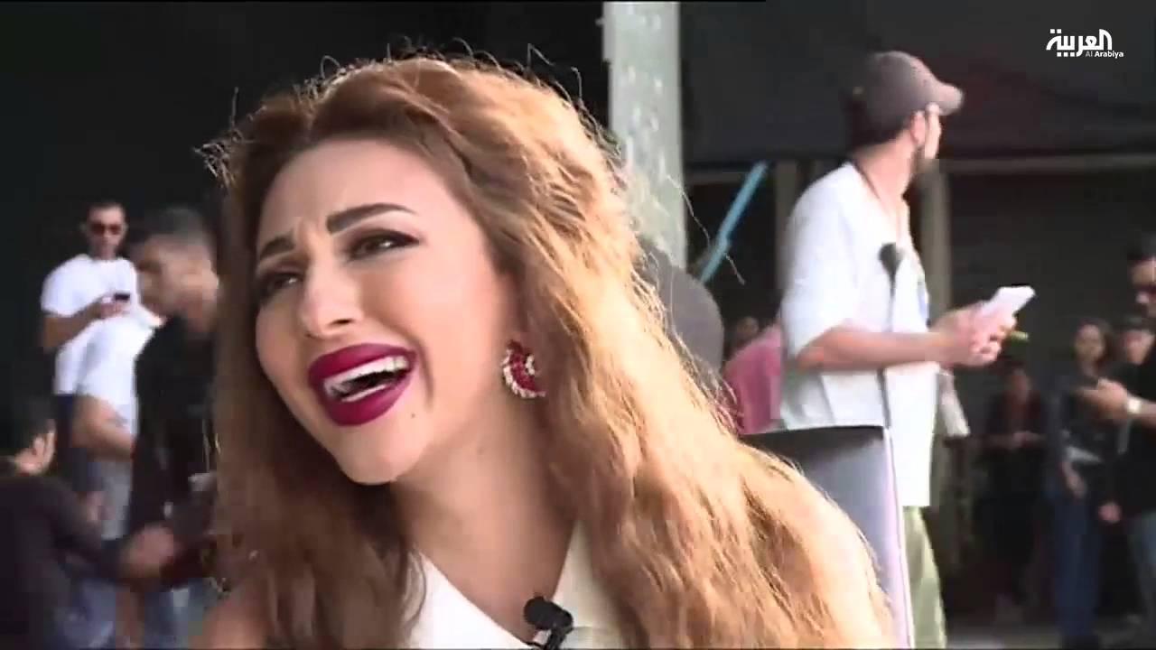 ميريام فارس تفاجئ الجمهور 1