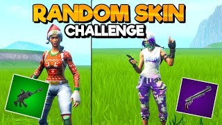 The Random Skin Challenge In Fortnite:Battle Royale - Gaming - Hyper