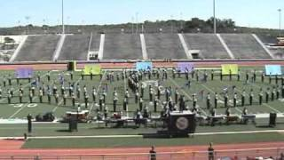 Tom C. Clark Mighty Cougar Marching Band 2009 (UIL Marching Contest)