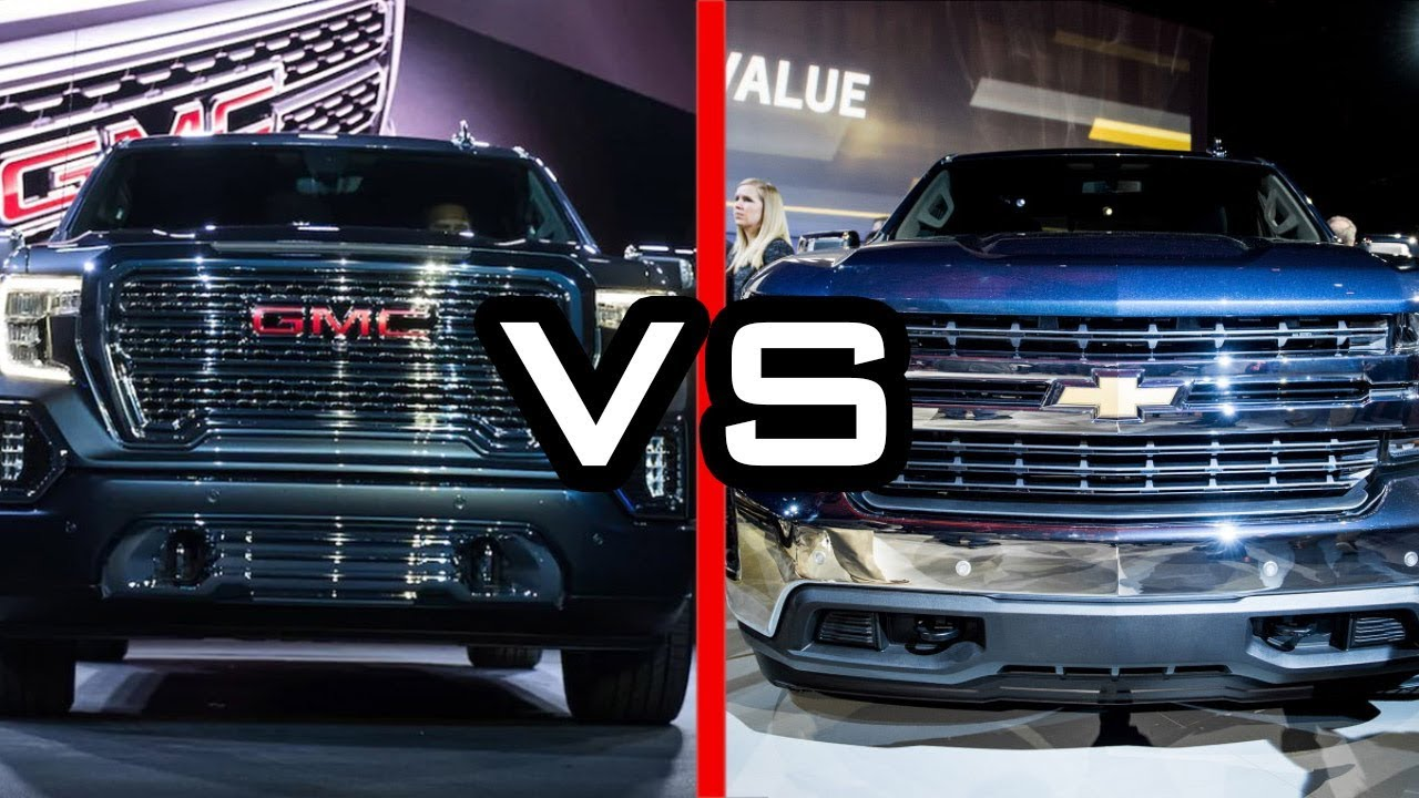 2019 GMC Sierra vs 2019 Chevy Silverado - YouTube