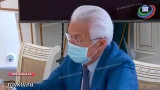 Глава Дагестана встретился с замминистра здравоохранения РФ