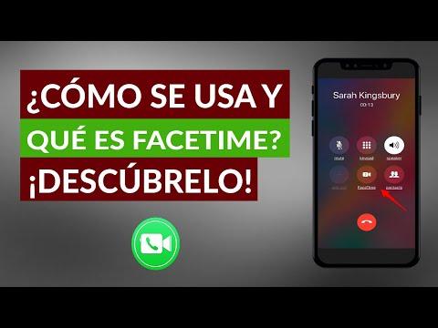 Qué es Facetime de iPhone y Cómo se Usa