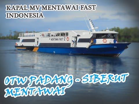 Traveling Padang to Mentawai, pulang kampung - Kapal MV Mentawai Fast | INDONESIA
