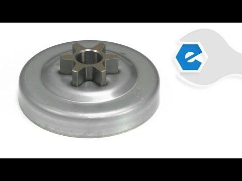 Echo Chainsaw Repair - Replacing The Clutch Drum (Echo Part # A556000401)