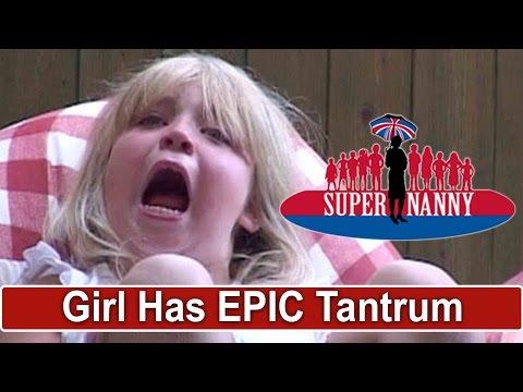 Young Girl Throws Epic Tantrum! | Supernanny thumbnail