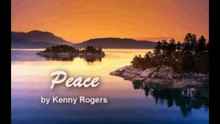 Watch Kenny Rogers Peace video