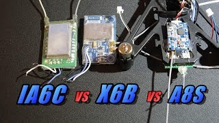 ia6c vs x6b vs a8s receivers for turnigy evolution