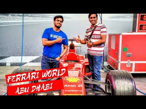 Ferrari World Abu Dhabi | World's Fastest Roller Coaster