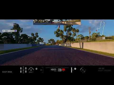 GT SPORT Circuit Experience - Mount Panorama Gold Lap Attack - bumper cam