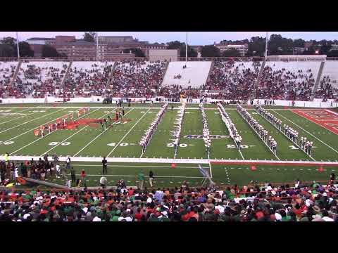 3. FAMU Marching 100 vs Savannah St. U. - Halftime 1 - 09/22/18