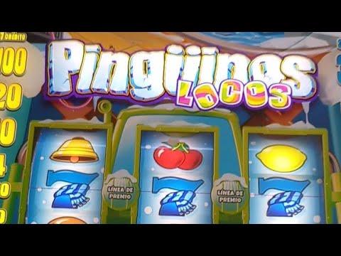 TRAGAPERRAS pingüino loco