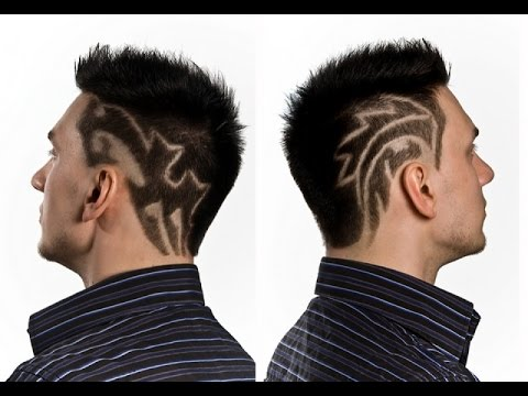 hair tattoo design - 25 cool mens