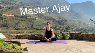 Gambar cover Yoga Hip opening with Master Ajay