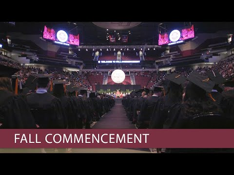 Florida State University Fall 2017 Commencement