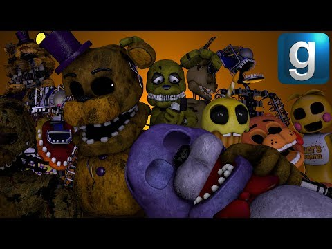 Gmod FNAF | Five Lost Nights At Freddy's [Part 9]