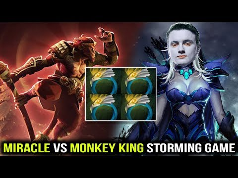 Monkey King vs Miracle Traxex Never Give Up Even When You Have Nothing Dota 2