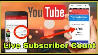 How to see real time youtube subscriber Count