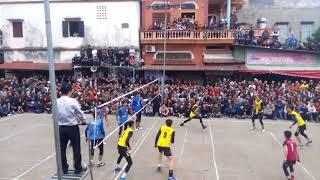 Bán kết bóng chuyền hội làng thôn Đồng Hương 2018