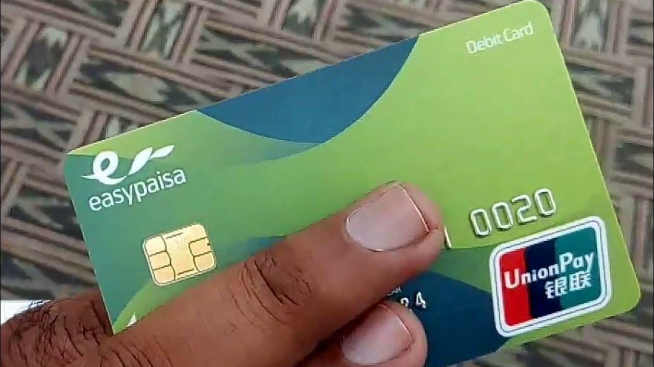 Easypaisa ATM Card 3  How to Make Easipaisa Master Debit Credit Card   Smart Tech Skills