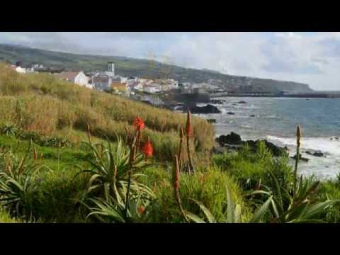 GlobeTrotter Jon Haggins TV on Faial and Terceira Islands in the Azores