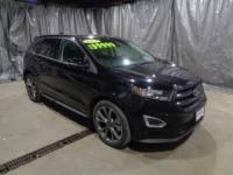2017 Shadow Black Ford Edge Sport 401A Package AWD AFT2971 Motor Inn AUto Group