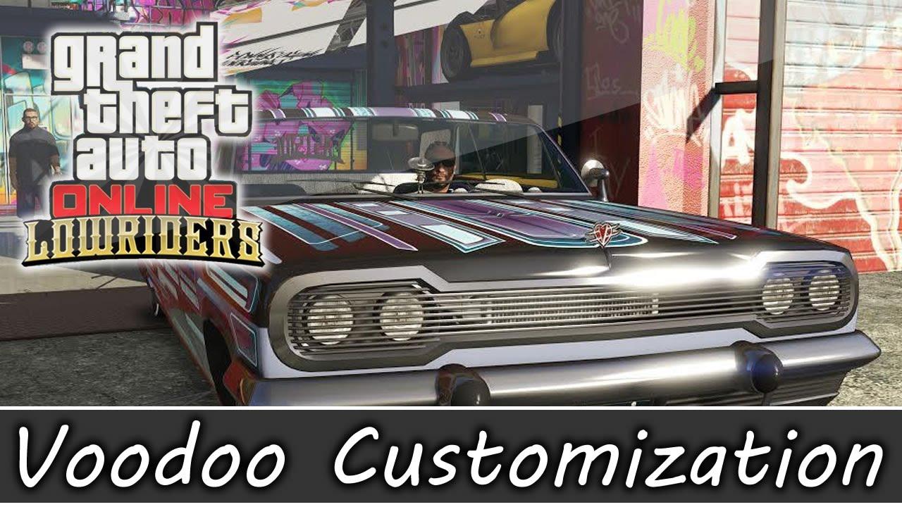 Gta 5 Online Lowrider Dlc Voodoo Fully Customized Benny