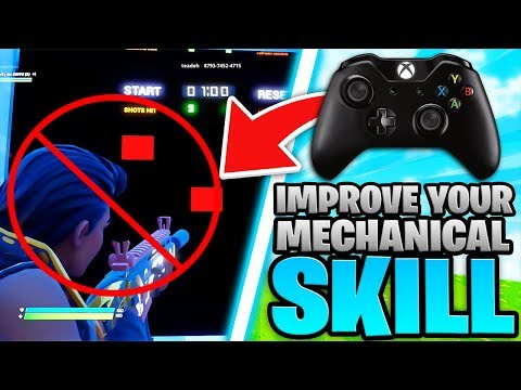 The Truth About Improving Your Fortnite Mechanics... (Controller Fortnite - PS4 + Xbox)