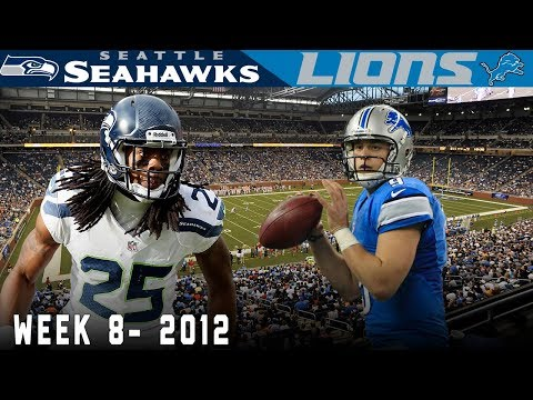 Stafford Takes on The Baby Legion of Boomers! Seahawks vs. Lions, 2012) | NFL Vault Highlights