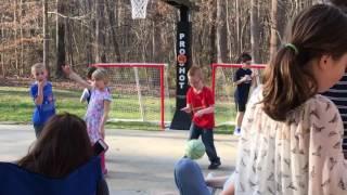 Elliott plays basketball