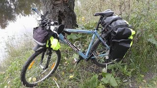 Обзор велосипедных гермосумок Орлан (на багажник и под руль)