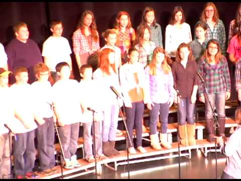 2013 Voices of the (603) - Chamber SIngers from Timberlane Regional Middle School - Yonder Come Day
