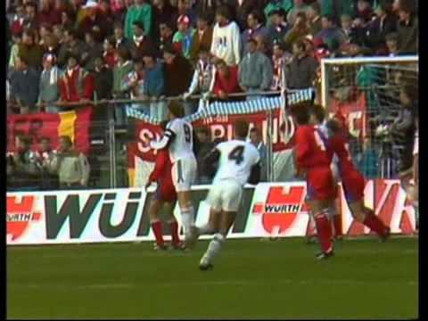 B. 1903 - Bayern München 22.10.1991 (UEFA Cup, 2 runde)