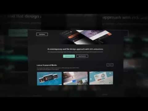 Szablon Responsywny Joomla RocketTheme Hadron