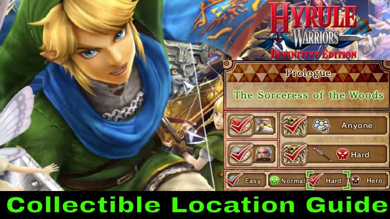 The Armies Of Ruin Collectible Guide Hyrule Warriors Switch 2018 Youtube