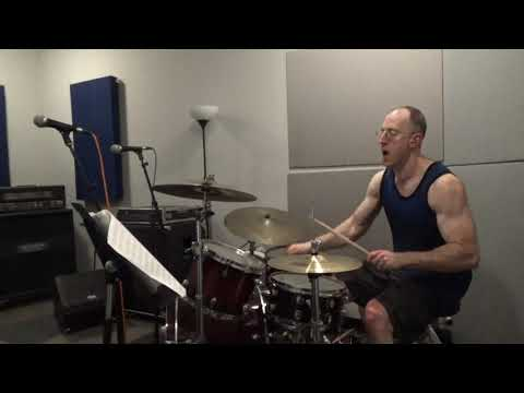 Capleton - Or wah (2005) - Drum cover/shed