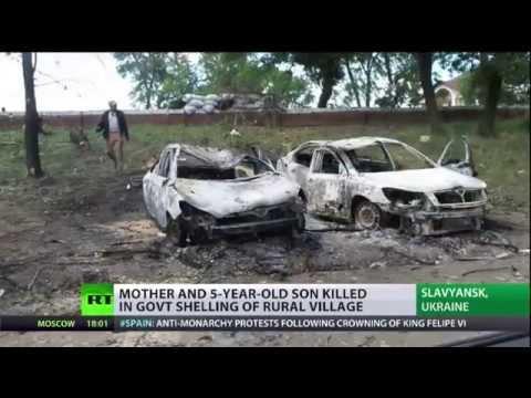 Ukraine - die Opfer des Krieges