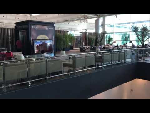 Turkish Airlines Vip Lounge at Istanbul Ataturk Airport!