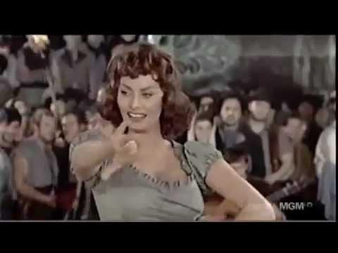 Sophia Loren   Dances Flamenco