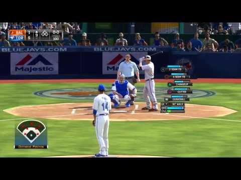 MLB 15 The Show PS3 Baltimore Orioles vs Toronto Blue Jays 09 05 2015