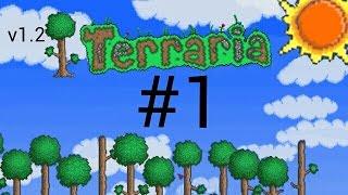 Прохождение игры terraria v1.2 на андроид #1(много чего нового)