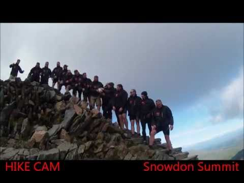 Day Three - Pass and kick at the top of Snowdon - Engage Mutual END-TO-END EXTREME