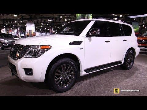 2019 Nissan Armada Platinum Reserve - Exterior and Interior Walkaround - 2019 NY Auto Show