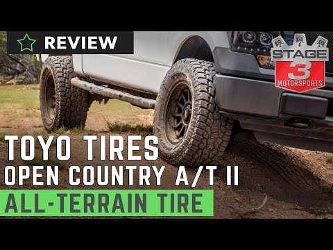 Toyo Open Country A/T II All Terrain Tire Review