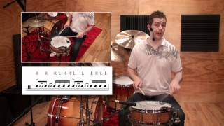 Drag Paradiddle 2 - Icanplaydrums.com