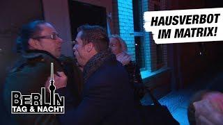 Berlin - Tag & Nacht - Basti bekommt Hausverbot im Matrix! #1634 - RTL II