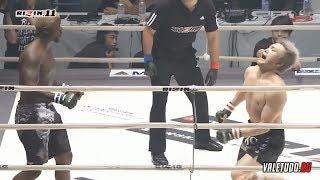 Takanori Gomi vs  Melvin Guillard дикий бой на RIZIN 11